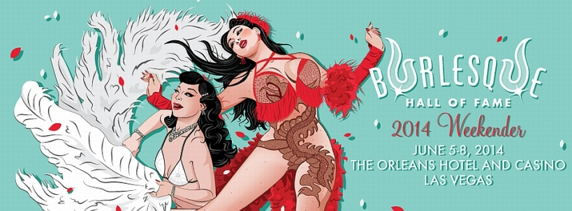 Burlesque Hall of Fame Weekend 2014 - Las Vegas / USA